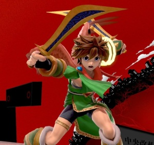 Pit Super Smash Bros ultimate Nintendo Switch kid Icarus