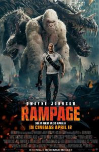 Rampage 2018 movie poster