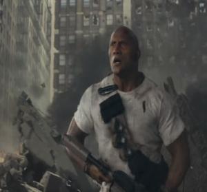Dwayne Johnson Rampage 2018 movie