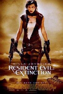 Resident Evil Extinction movie poster