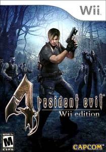 Resident Evil 4 Wii Edition boxart