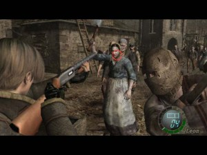 Resident Evil 4 Wii Edition chainsaw man