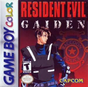Resident Evil Gaiden GBC Capcom boxart