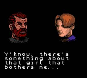 Barry Burton Leon Kennedy Resident Evil Gaiden