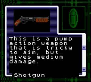 Shotgun Resident Evil Gaiden
