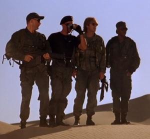 In the desert Stargate 1994 movie