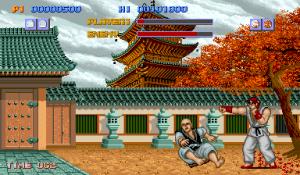 Street Fighter 1 arcade