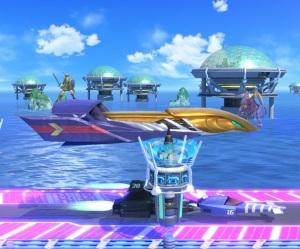 Big Blue Stage super Smash Bros ultimate Nintendo Switch F-Zero
