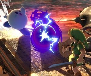 Kirby as Mewtwo super Smash Bros ultimate Nintendo Switch Pokémon