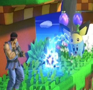 Kirby as Pichu Super Smash Bros ultimate Nintendo Switch