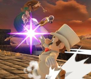 Mario vs palutena Bridge of Eldin Stage super Smash Bros ultimate Nintendo Switch twilight princess