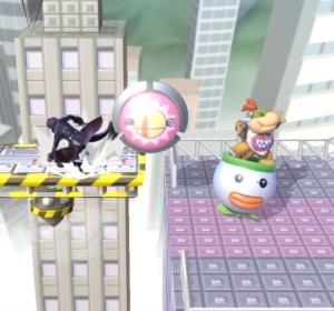 bumper item super Smash Bros ultimate Nintendo Switch