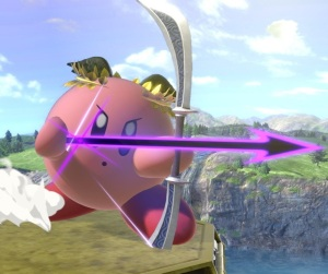 Kirby as dark pit super Smash Bros ultimate Nintendo Switch