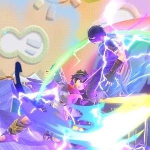 Dark pit hits Marth super Smash Bros ultimate Nintendo Switch
