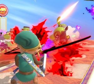 Inkling using Death's Scythe item Super Smash Bros ultimate Nintendo Switch Castlevania Konami