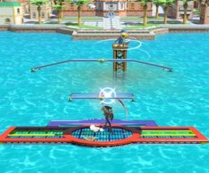 Delfino Plaza Stage super Smash Bros ultimate Nintendo Switch super Mario Sunshine