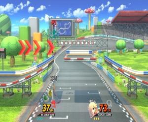 Figure-8 Circuit Stage super Smash Bros ultimate Nintendo Switch