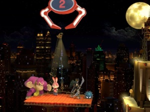 Donkey Kong vs Dark Pit Fourside Stage super Smash Bros ultimate Nintendo Switch