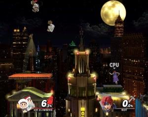 Fourside Stage super Smash Bros ultimate Nintendo Switch
