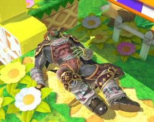 Ganondorf hurt Super Smash Bros ultimate Nintendo Switch
