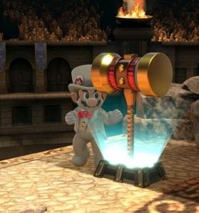 Golden Hammer super Smash Bros ultimate Nintendo Switch