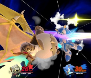 Meta knight final Smash super Smash Bros ultimate Nintendo Switch