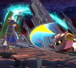 Meta knight vs palutena super Smash Bros ultimate Nintendo Switch