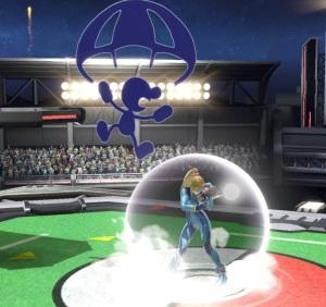 Mr. Game and Watch vs Zero Suit Samus Super Smash Bros ultimate Nintendo Switch