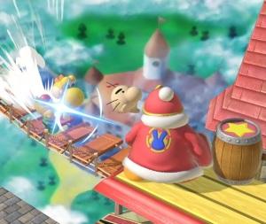Yoshi throws Mr. Saturn item super Smash Bros ultimate Nintendo Switch