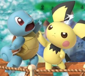 Pichu Super Smash Bros ultimate Nintendo Switch Pokémon