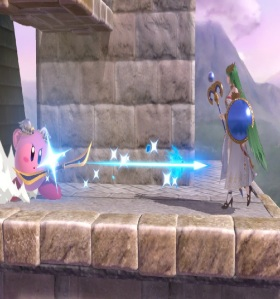 Kirby as Pit Super Smash Bros ultimate Nintendo Switch kid Icarus