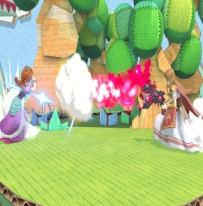Princess Zelda using Rage Blaster super Smash Bros ultimate Nintendo Switch