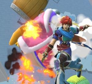 Roy vs king Dedede Super Smash Bros ultimate Nintendo Switch fire Emblem
