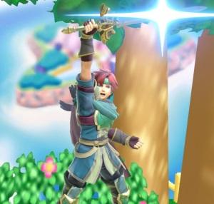 Roy Super Smash Bros ultimate Nintendo Switch fire Emblem