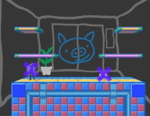 WarioWare Inc Stage super Smash Bros ultimate Nintendo Switch