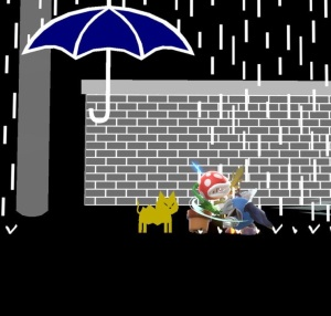 Avoid the rain WarioWare Inc Stage super Smash Bros ultimate Nintendo Switch
