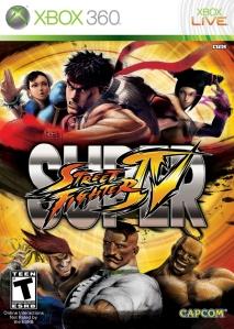 Super Street Fighter IV Xbox 360 boxart